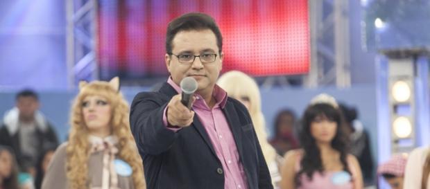 Geraldo Luís fora do Domingo Show