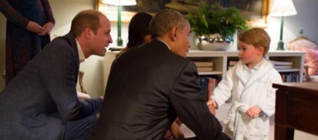 Il Royal baby incontra Barack Obama