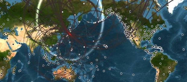 Imagen del terremoto de Japón en 2011
