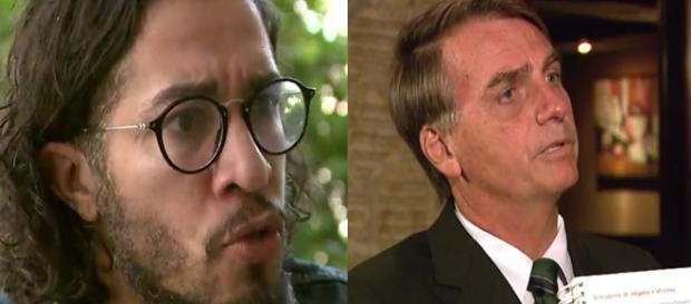 Jean Wyllys falou sobre polêmicas com Bolsonaro