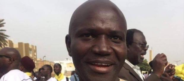 NIA Special Agent Gibriel Kujabi was arrested amid anti-Jammeh protest for spying / Photo via Sainey Marena