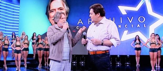 Zé de Abreu se defende ao vivo no 'Domingão do Faustão'