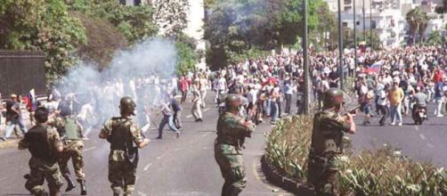 En Venezuela, ya no hay seguridad, hasta las fuerzas armadas arremeten contra los ciudadanos