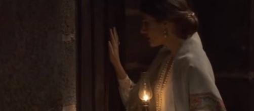 Il Segreto, Amalia scopre che Ines è rapita