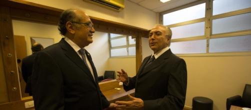 Ministro do STF, Gilmar Mendes, elogiou o vice-presidente da República, Michel Temer.