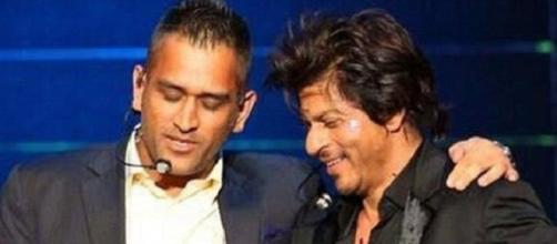 SRK and Dhoni IPL 2016 (Twitter)
