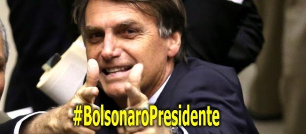 Bolsonaro vem crescendo nas pesquisas eleitorais