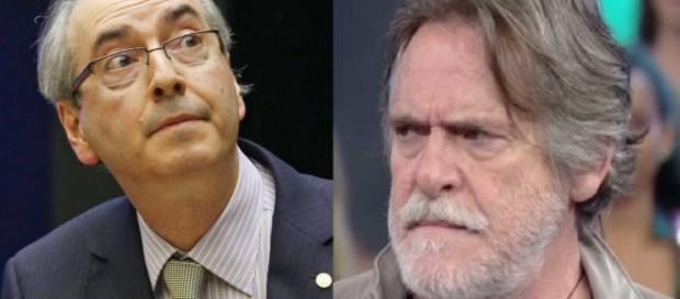 Eduardo Cunha e José de Abreu - Foto/Montagem