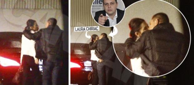 Laura Chiriac surprinsă cum își înșeală soțul