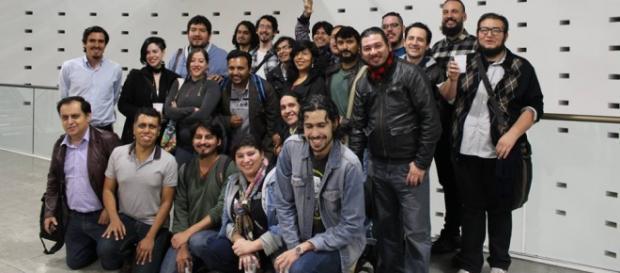 Participantes del Primer Coloquio de Juegos de Rol Día 3