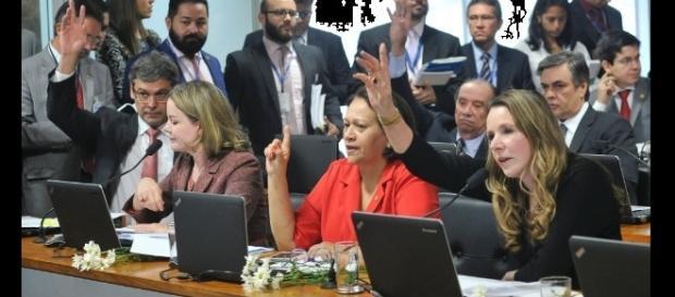 Senadores que se posicionaram contra o nome de Anastasia para a relatoria se manifestando