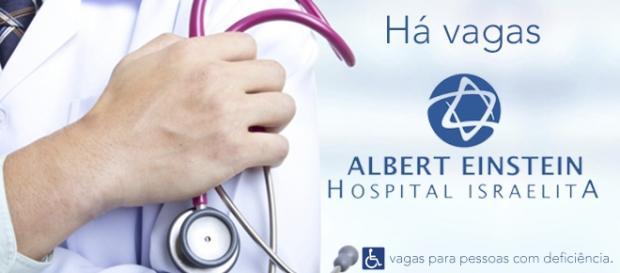Vagas no Albert Einstein - Foto: Reprodução Urologiacau