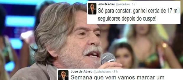 Zé de Abreu volta a provocar polêmicas