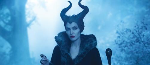 Angelina Jolie in Maleficient 1