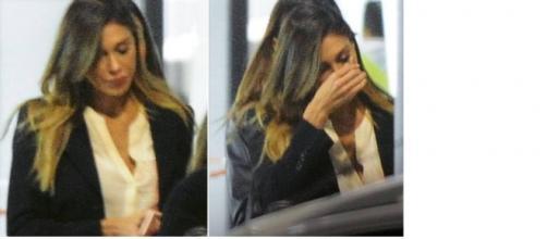 Gossip: le lacrime di Belen Rodriguez a Napoli.