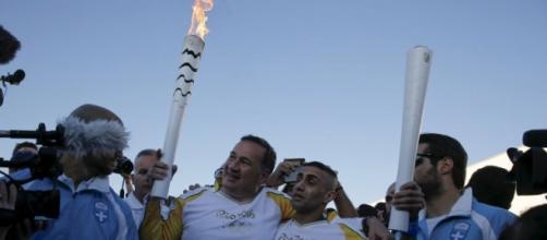 Ibrahim Al-Hussein, refugiado sirio que llevó la antorcha olímpica hasta un campo de refugiados en Atenas