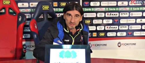 Ivan Juric, attuale allenatore del Crotone