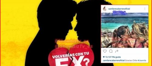 Joaquín y Camila disfrutan de su amor fuera de Volverías con tu ex?