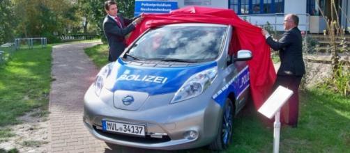 Nissan Leaf della Polizia di Germania