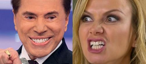 Silvio Santos não está nada satisfeito com a audiência do programa da Eliana