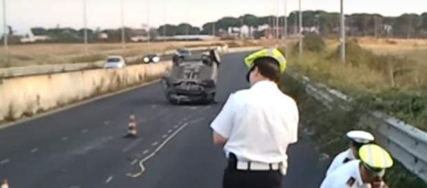 A giugno scorso un 26enne in scooter è finito sotto un Camion. Nella foto un incidente del 2012 in cui perse la vita un 29enne.