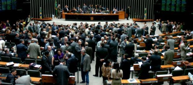 Câmara dos Deputados em Brasília
