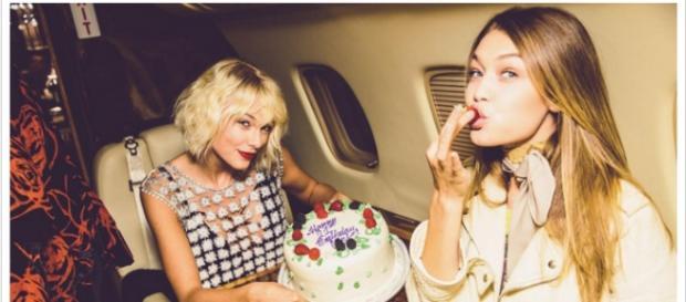Gigi celebra o aniversário em grande estilo