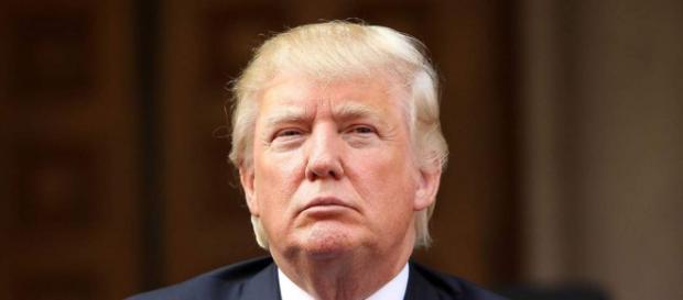 Il candidato repubblicano Trump