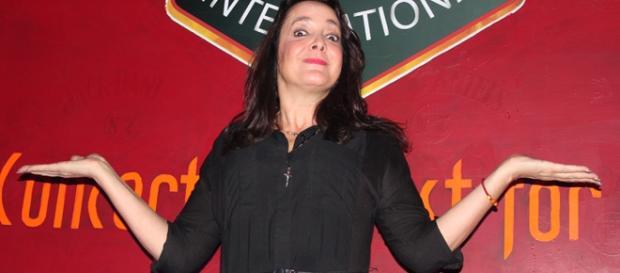La actriz y comediante María Fernanda García