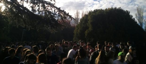 Los universitarios celebran San Cemento un año más