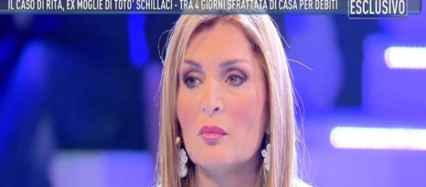 Rita Bonaccorso a Domenica Live