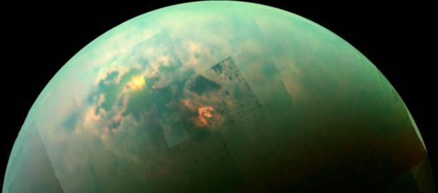 Saturn's moon Titan continues to surprise researchers (Credit: NASA/JPL/Univ. Arizona/Univ. Idaho)