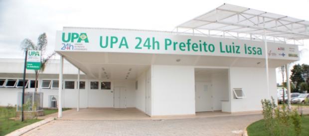 UPA de Vespasiano, onde ocorreu o crime.