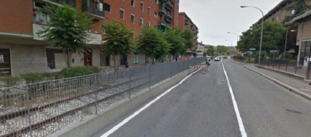Via Ferrarese a Bologna, luogo dell'accaduto