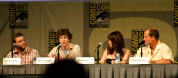 Zombieland Cast. (L to R) Jesse Eisenberg, Emma Stone and Woody Harrelson. Bobbyprom/Flickr.