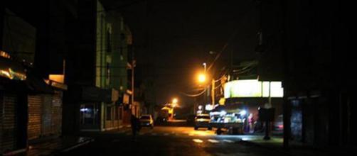 Apagones de luz en las calles de Venezuela