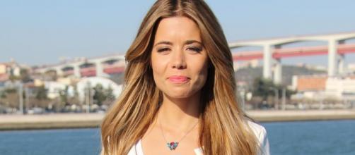 A apresentadora da TVI Isabel Silva