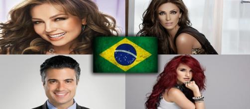 Artistas mexicanos conhecidos no Brasil