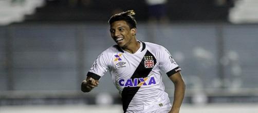 Caio Monteiro marcou seu primeiro gol como profissional.