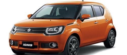 La nuova automobile Suzuki Ignis