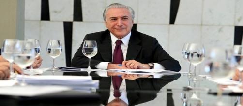Michel Temer em negociação política