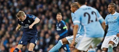No jogo de ida, em Manchester, partida terminou empatada sem gols
