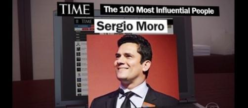 O juiz Sergio Moro, homenageado pela Time como uma das 100 pessoas mais influentes do mundo