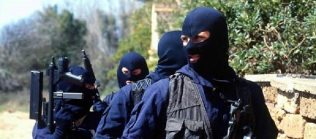 Gli uomini del Ros dei carabinieri
