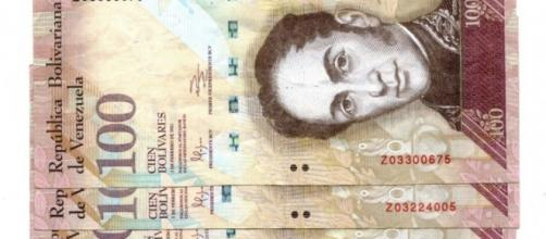Billete de 100 bolívares venezolanos