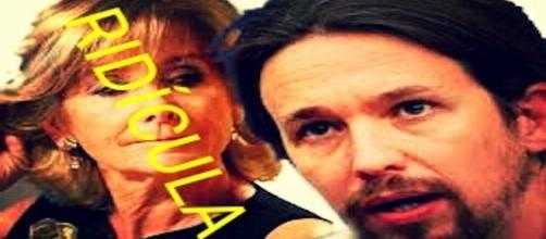 Esperanza Aguirre queda en evidencia