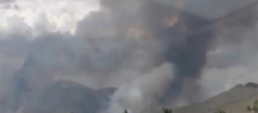 Ufo: un nuovo misterioso filmato mostra parte superiore dell'Area 51 ricoperta di fumo