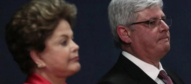 Dilma Rousseff e Janot - Imagem Google