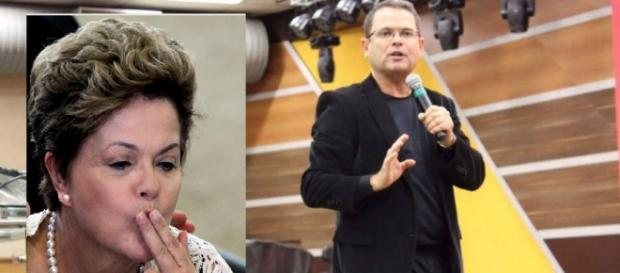 Dilma Rousseff e Sidney Rezende - Foto/Montagem