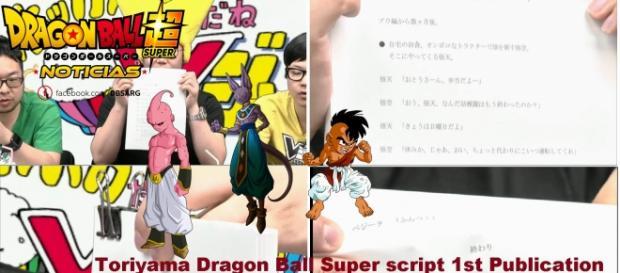 Imagenes del guion del capitulo numero 1